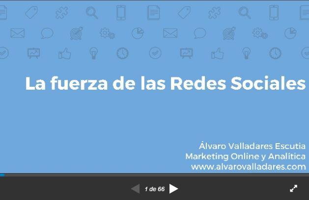 SlideShare La Fuerza de las Redes Sociales