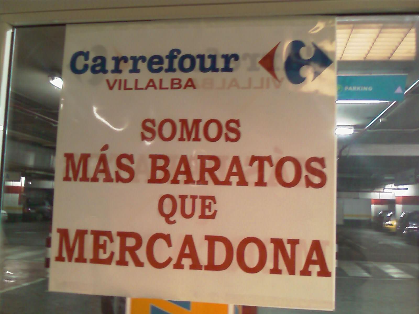 Guerra de precios ayudada con mensajes en los establecimientos