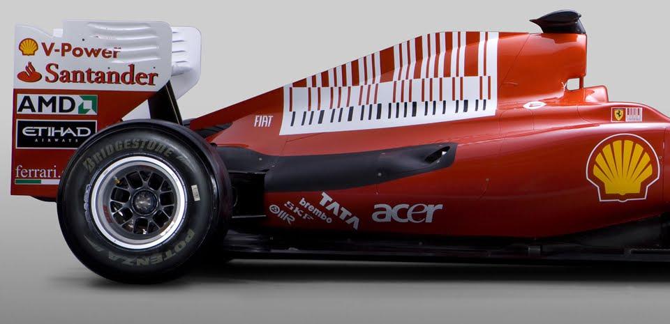 Patrocinio de Marlboro en Ferrari