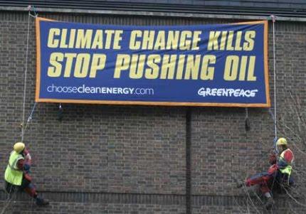 Greenpeace pretende ser la conciencia del mundo