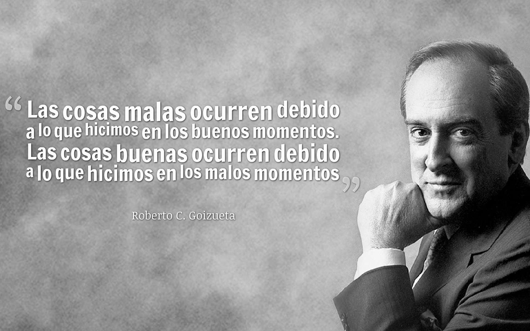 Principios del éxito por Roberto C. Goizueta