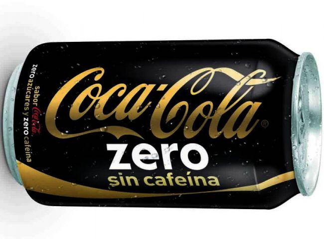Coca Cola lanza Coca Cola Zero sin cafeina, otra más