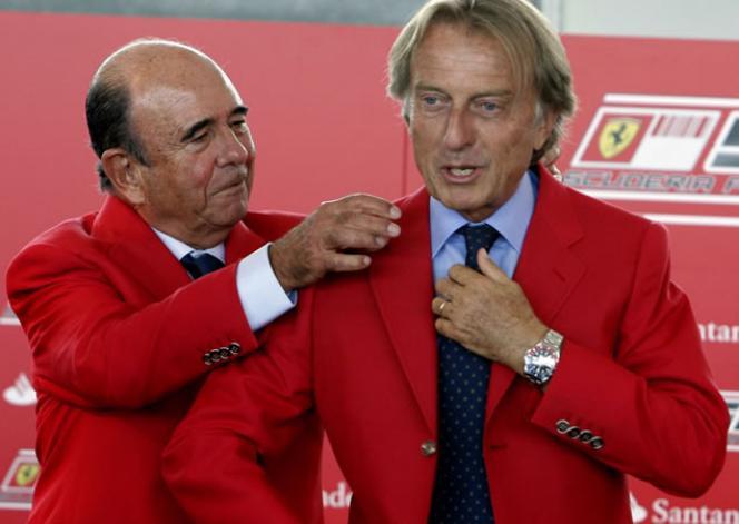 Patrocinio de Ferrari por el Banco Santander