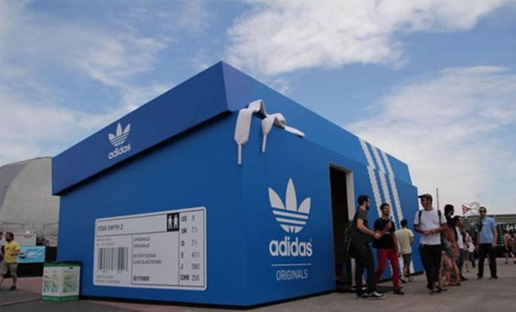 Pop-up Store de Adidas