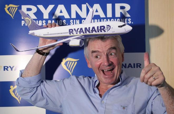 Michael O'Leary CEO de Ryanair