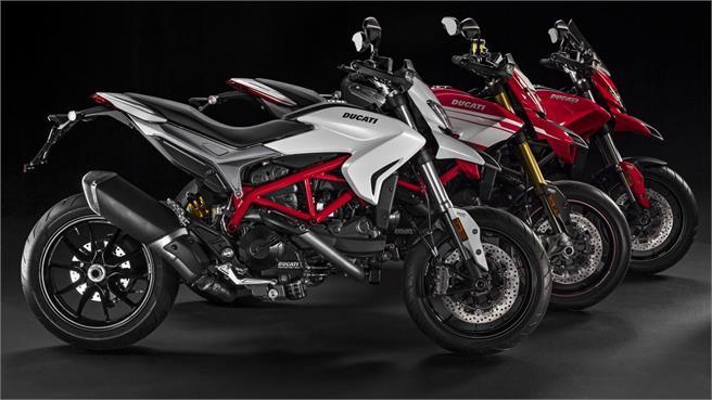 Ducati Hypermotard modelos