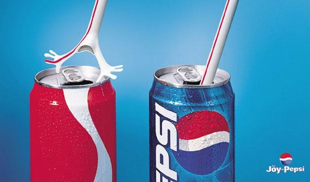 Publicidad Comparativa entre Pepsi y Coca Cola