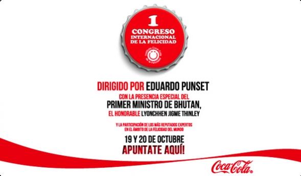 Congreso organizado por el Instituto de la Felicidad de Coca Cola