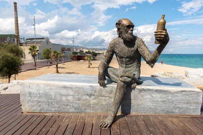 Estatua de Anís del Mono