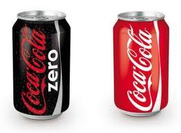 Prodcutos de Coca Cola haciéndose la competencia y canibalizarse el mercado