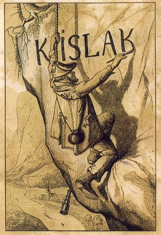 Josef Kyselak un graffitero con marca