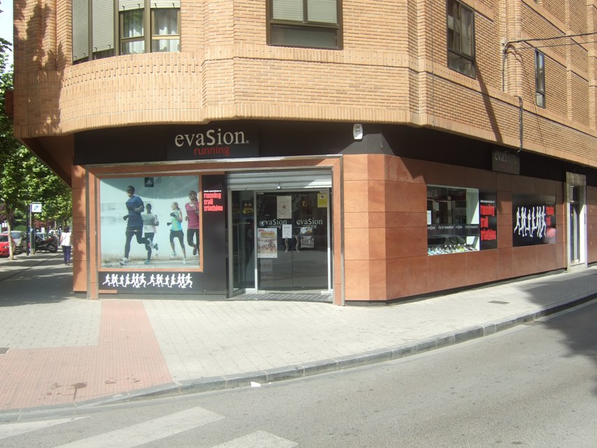 Evasion Running una tienda que logra una diferenciación por especialización