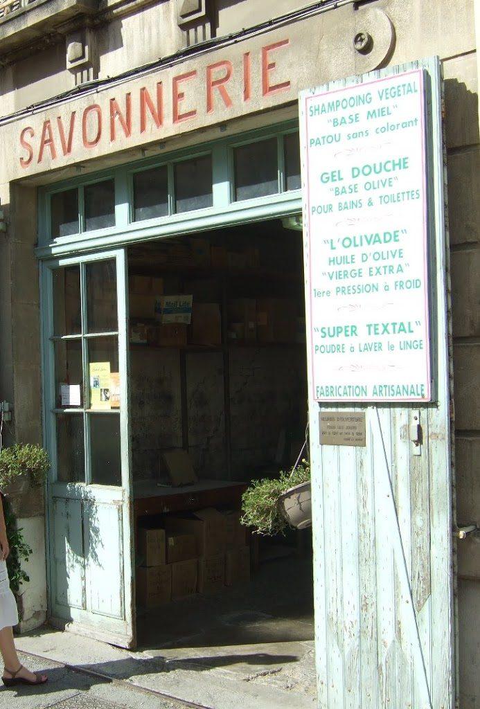 Tienda de jabón en Marsella