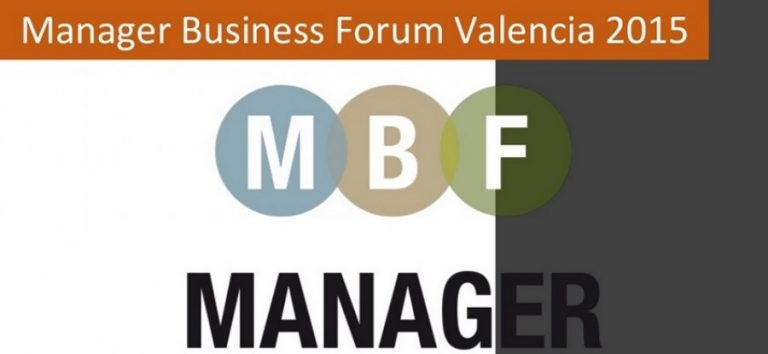 Informe Manager Business Forum Valencia 2015