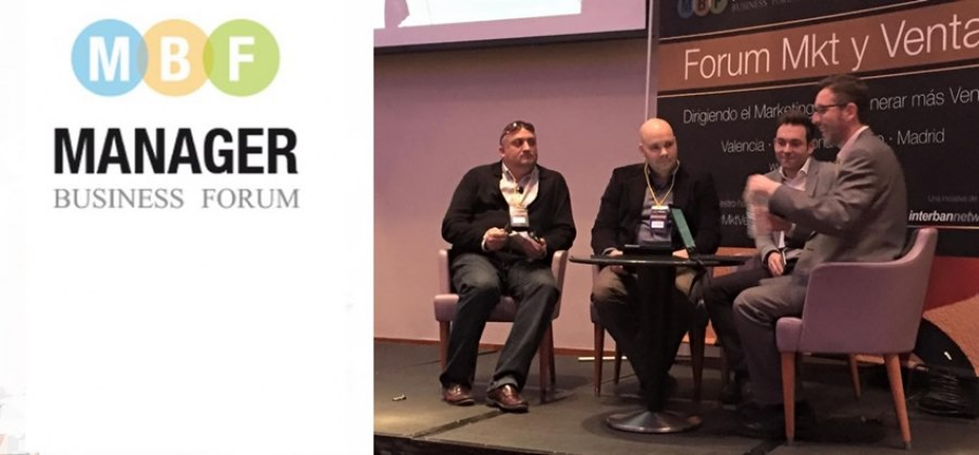 Intervención en el Manager Business Forum 2015