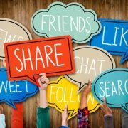Como compartir contenido en las distintas redes sociales