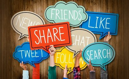 Cómo compartir contenido en las Redes Sociales.