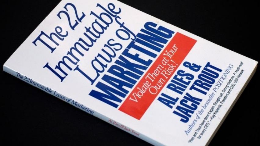 22 Leyes Inmutables del Marketing, un libro imprescindible