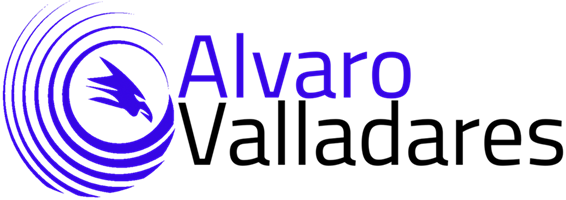 Alvaro Valladares Logo Analítica y Marketing Online